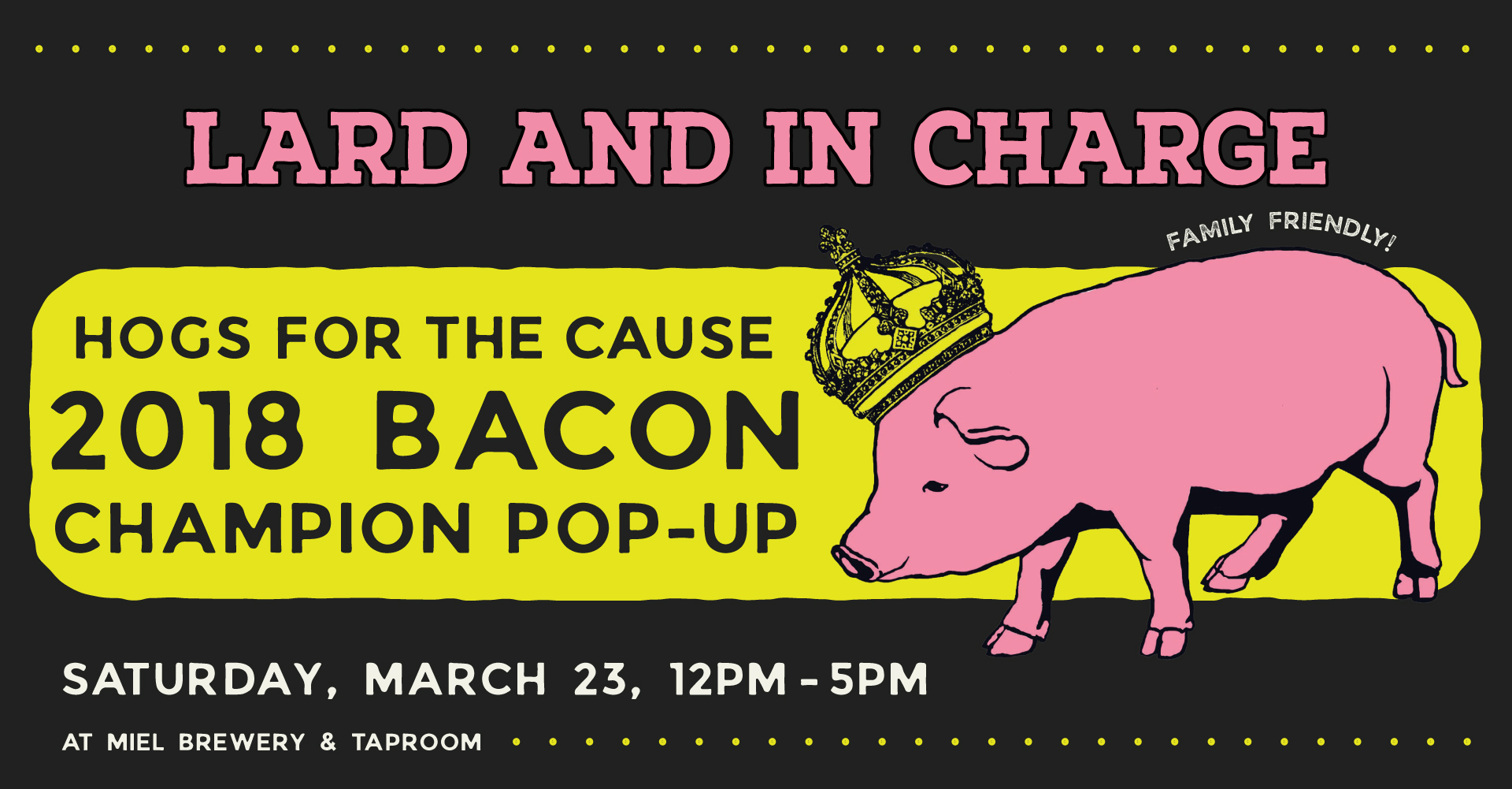 Miel Brewery_New Orleans_Hogs for the Cause_Lard and in charge pop up