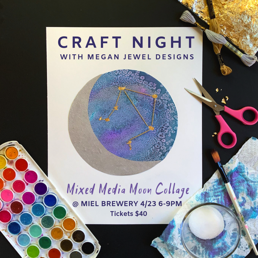 Miel Brewery_New Orleans_April Craft night with Megan Jewel Designs