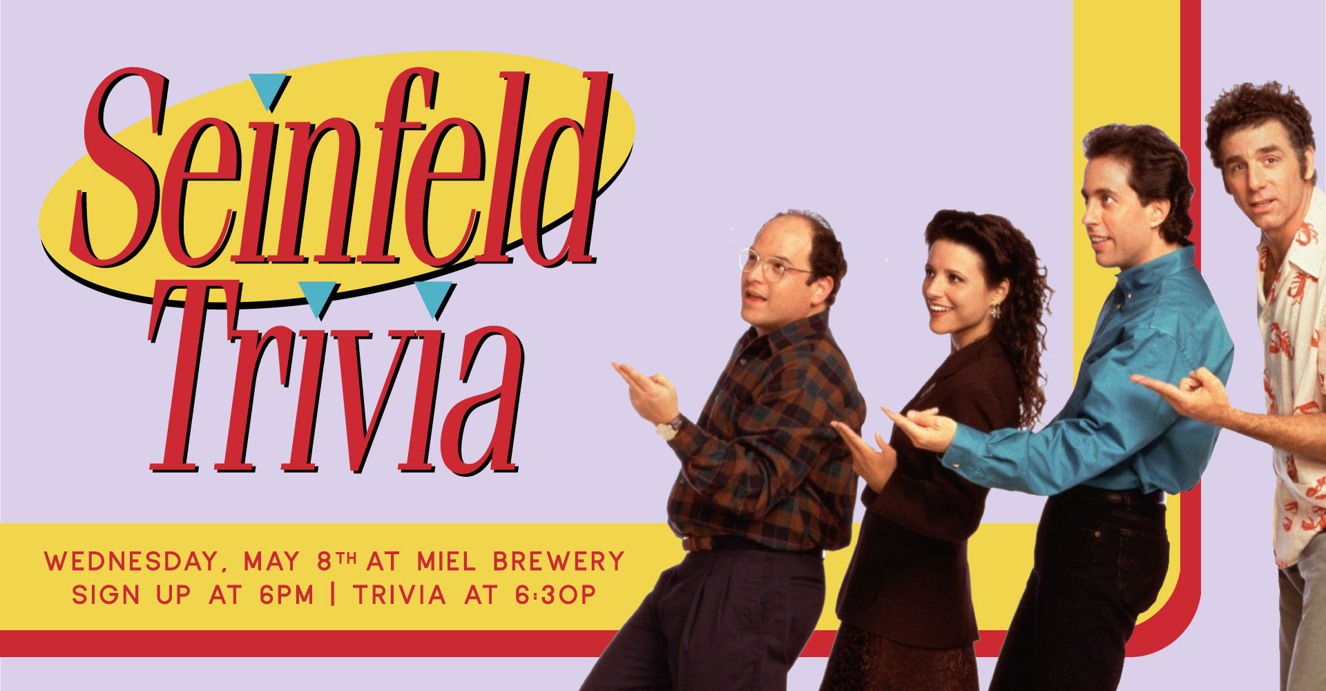 Miel Brewery_New Orleans_Seinfeld Trivia