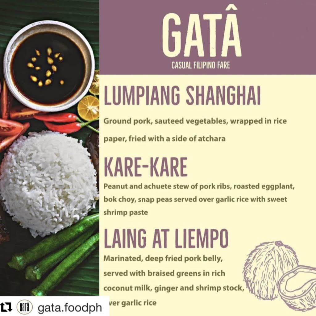 Miel Brewery_Gata Filipino pop up menu