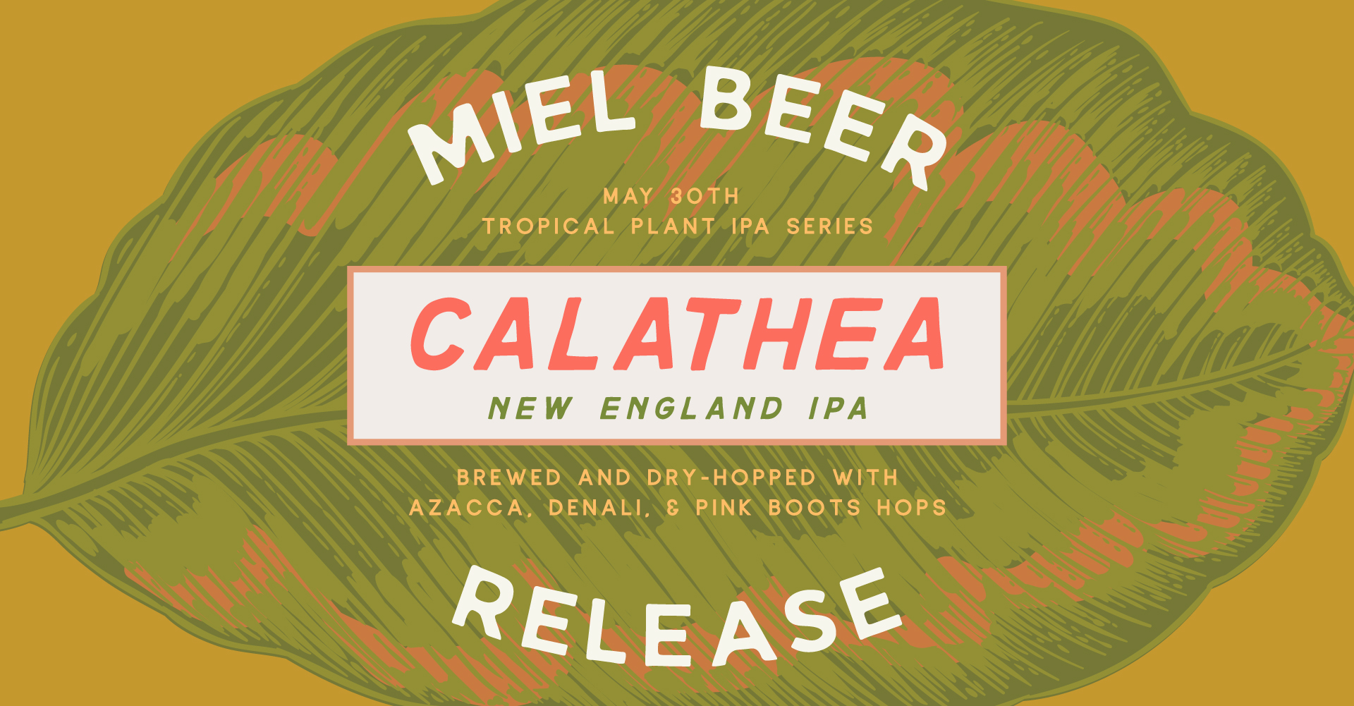 Miel Brewery_New Orleans_Beer Release_Calathea_NEIPA