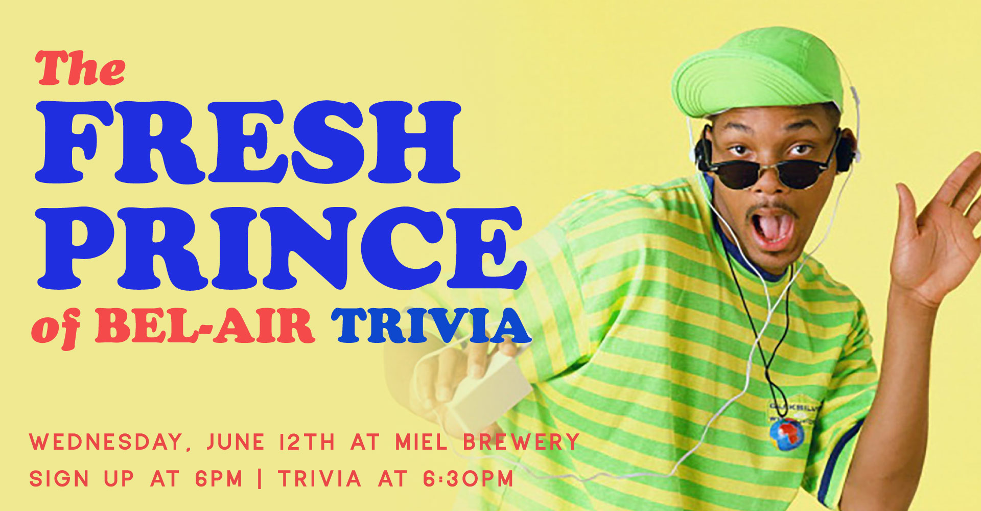 Miel Brewery_New Orleans-Fresh Prince Trivia Night