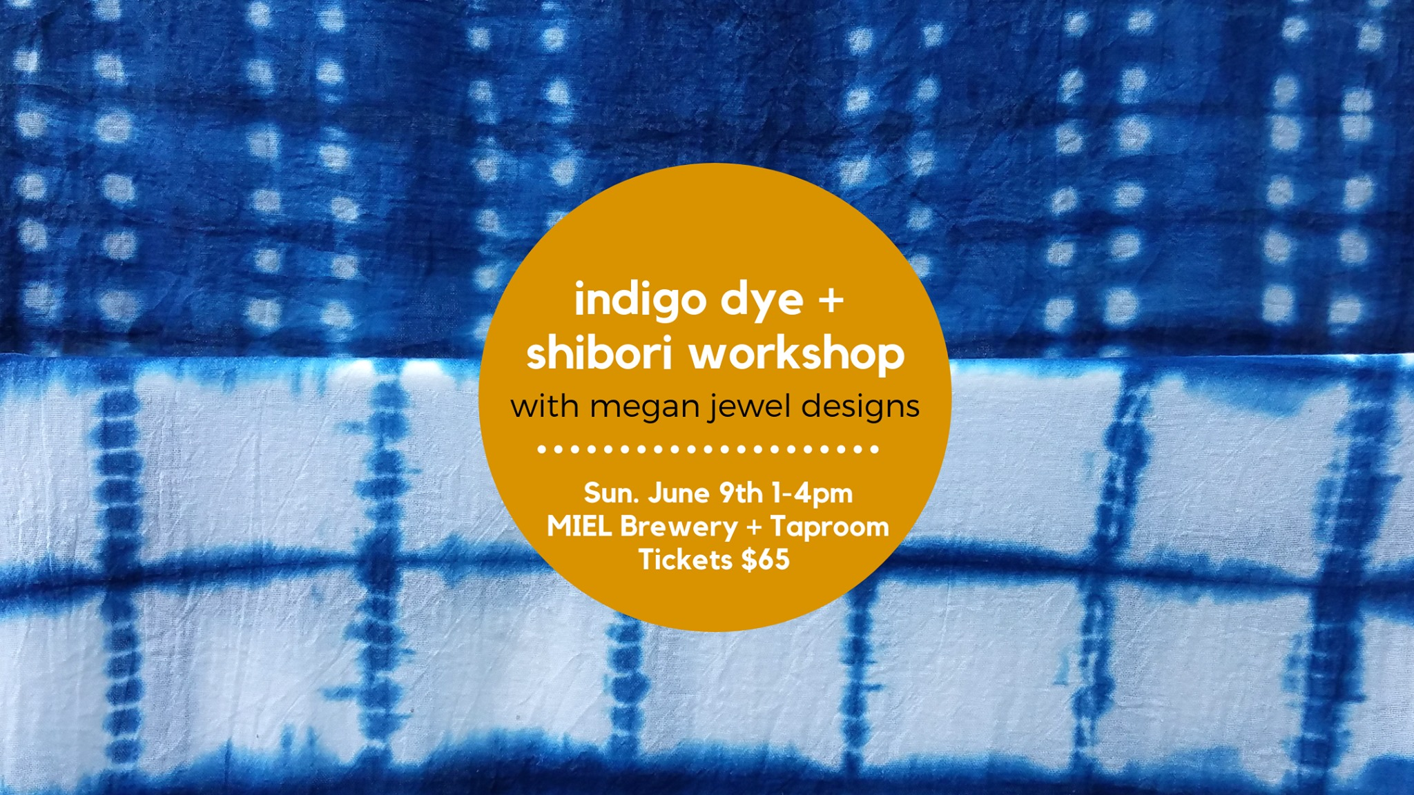 Miel Brewery_New Orleans_Craft night_indigo dye and shibori workshop
