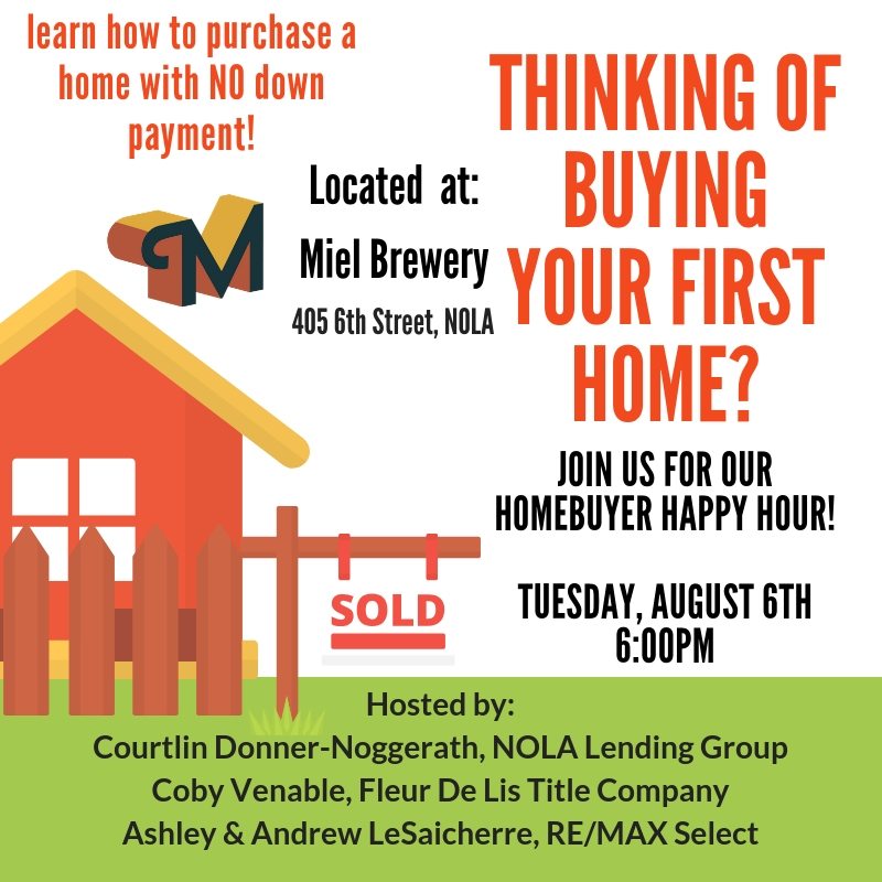 Miel Brewery_New Orleans_Home buyer happy hour_August 6 2019