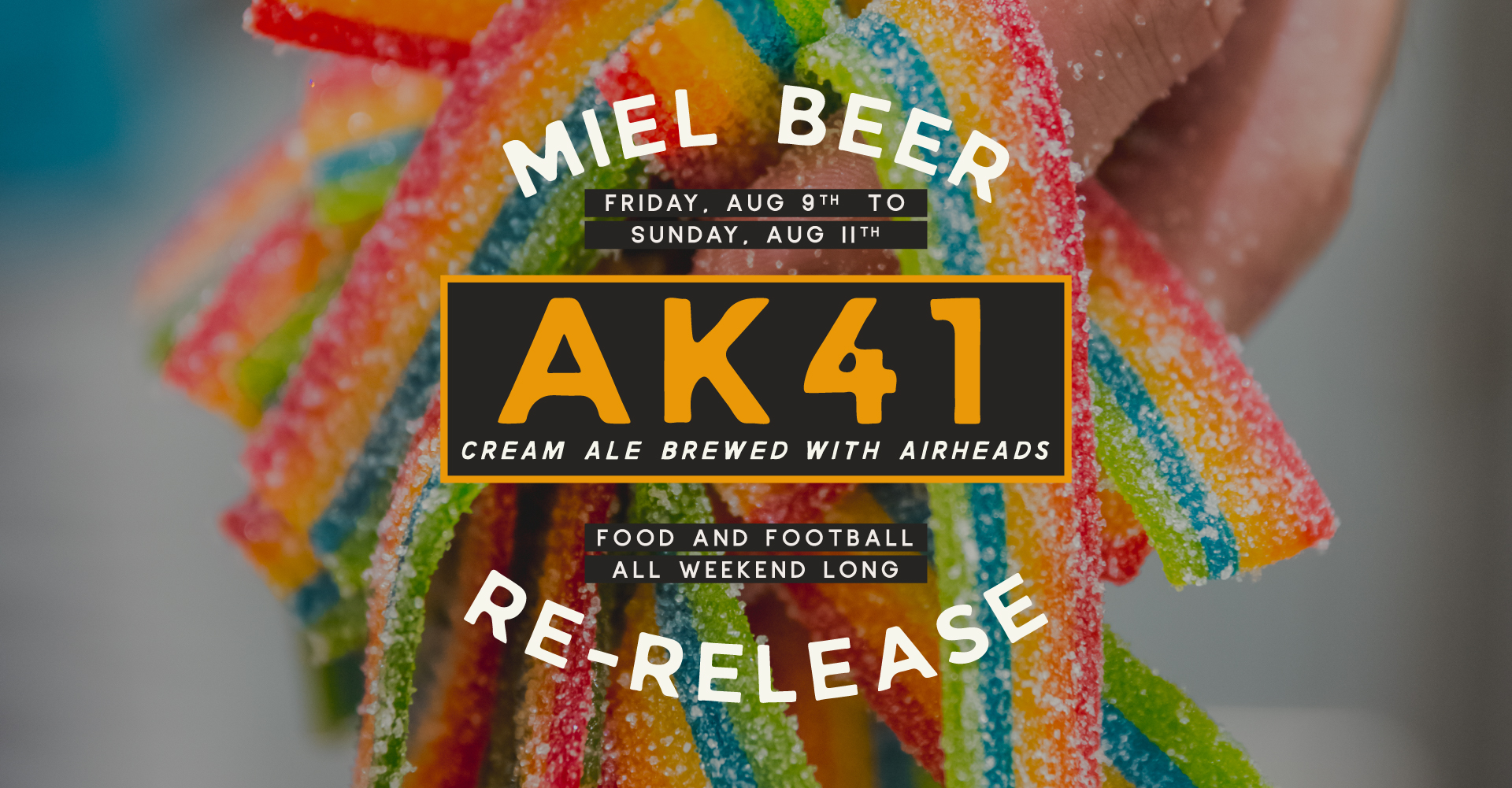 Miel Brewery_New Orleans_Beer Release_AK41_Amercian Cream Ale Airheads