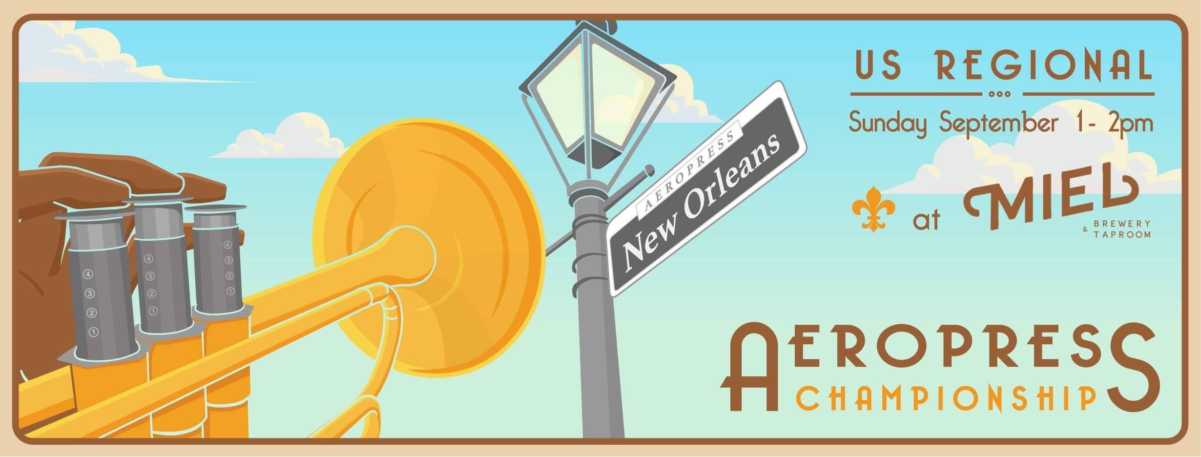 Miel Brewery_New Orleans_NOLA Regional Aeropress Championship