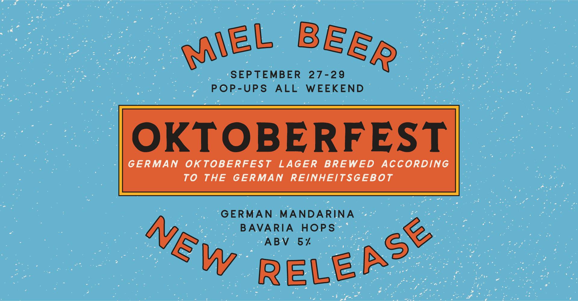 Miel Brewery_New Orleans_Beer Release_Oktoberfest_Lager