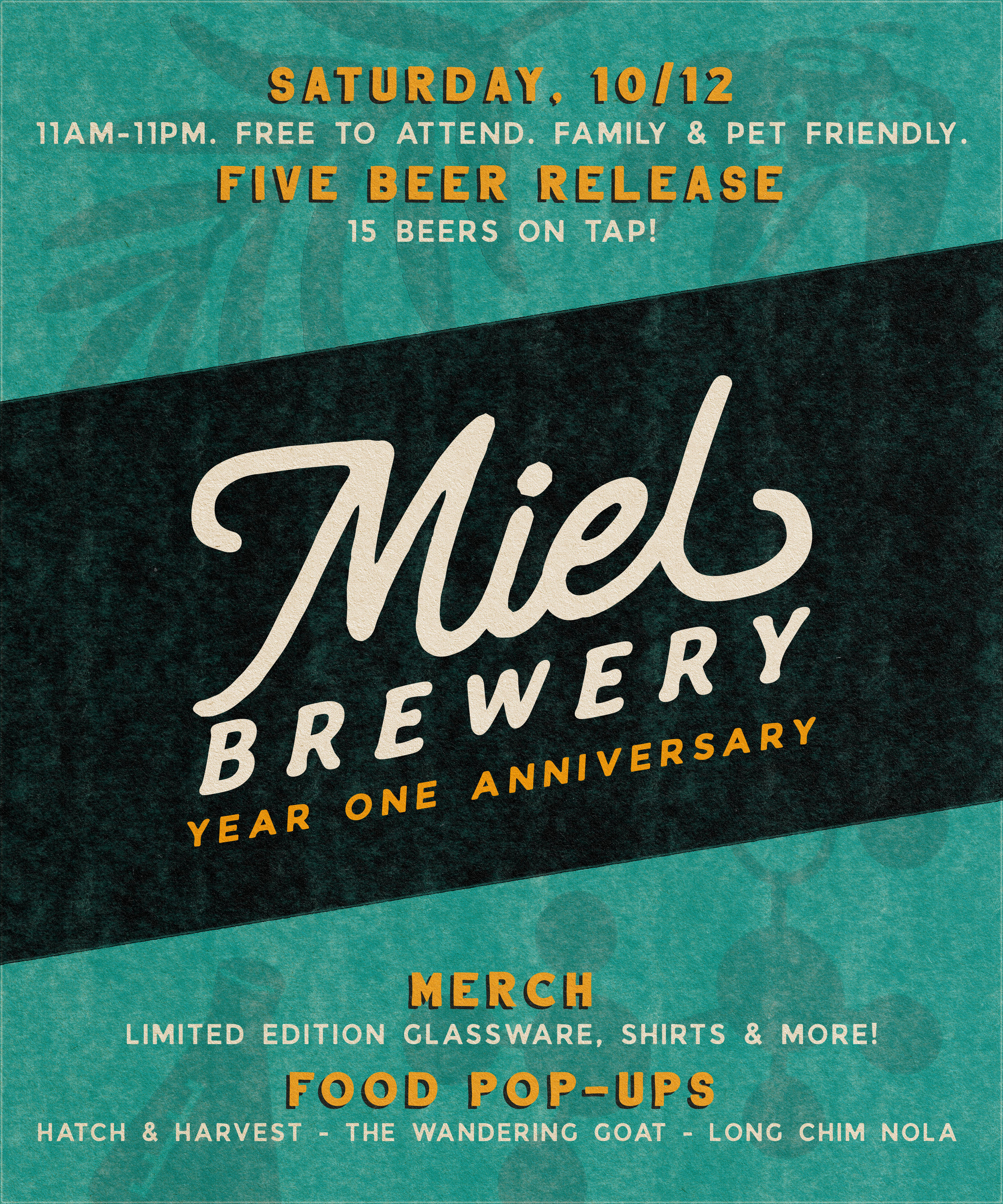 Miel Brewery_New Orleans_One Year Anniversary_October 12 2019