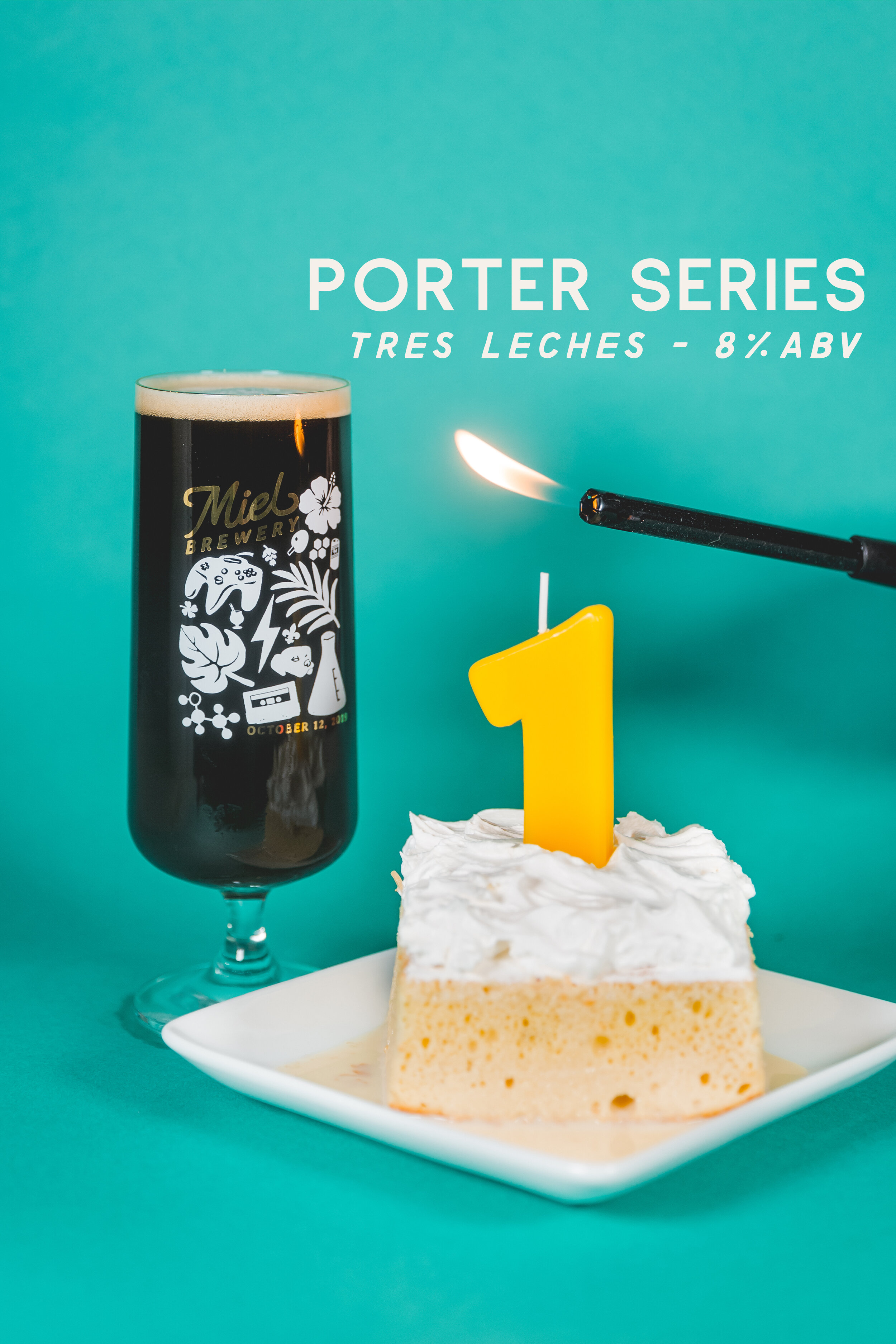 Miel Brewery_New Orleans_Year One Anniversary_Tres Leches Porter Beer