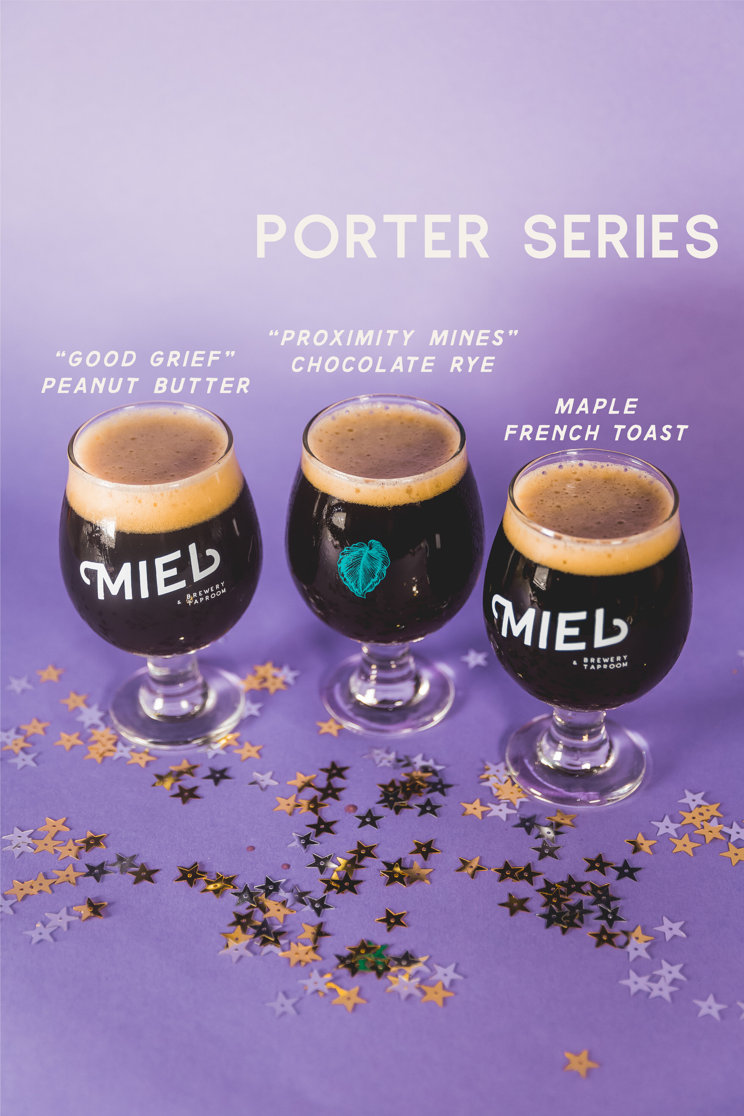 Miel Brewery_New Orleans_Year One Anniversary_Porter Beer collab with Proximity Malt