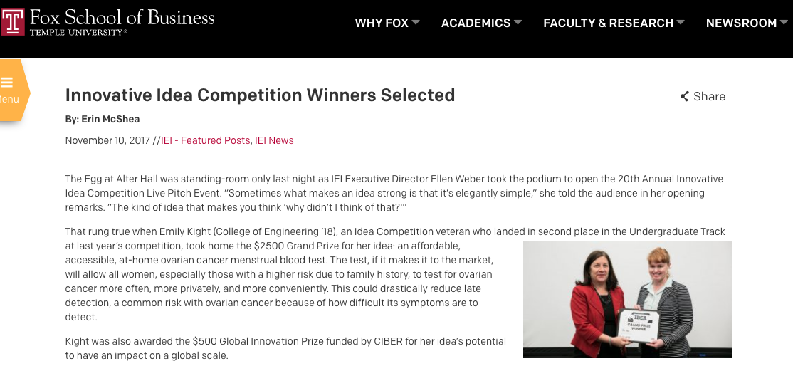 https://www.fox.temple.edu/posts/2017/11/innovative-idea-competition-winners-selected/