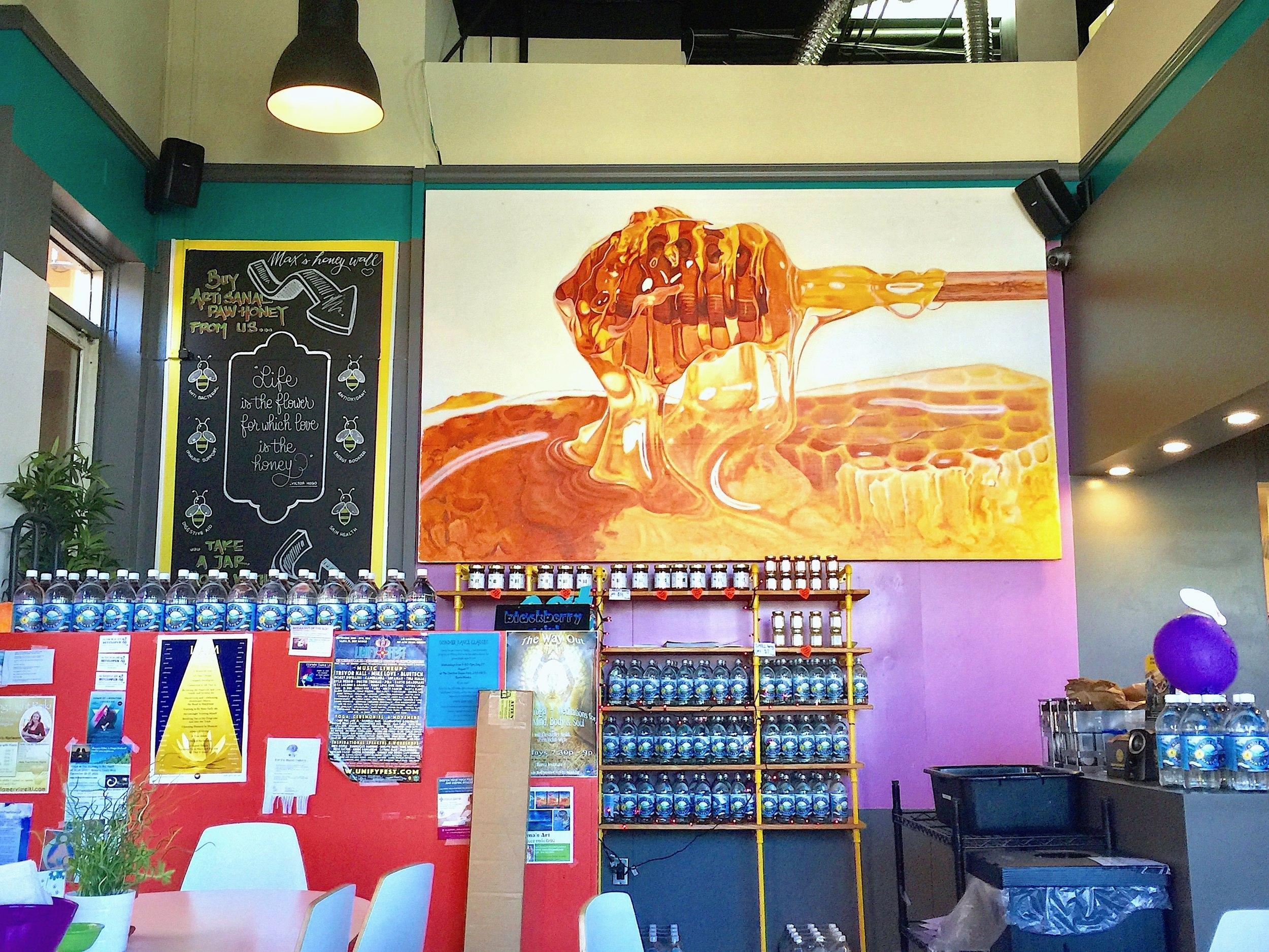 Kippy's ice cream Honey wall