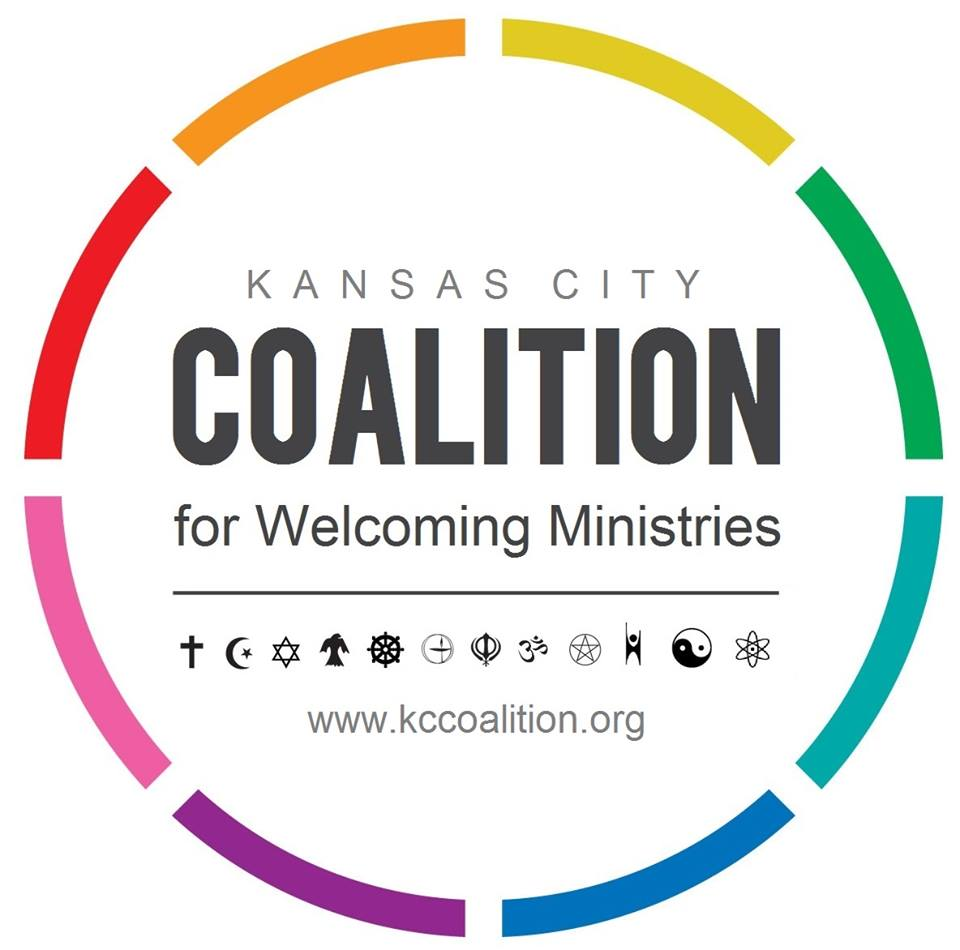 Kansas City Coalitionfor Welcoming Ministries - The Kansas City metropolitan area's organization for all faith communities that welcome and affirm the Gay, Lesbian, Bisexual and Transgender Community. Our organization helps to connect those ministries and persons that are currently affirming or welcoming as well as those congregations and persons who are working at becoming welcoming or affirming of all persons regardless of sexual orientation or gender identity.