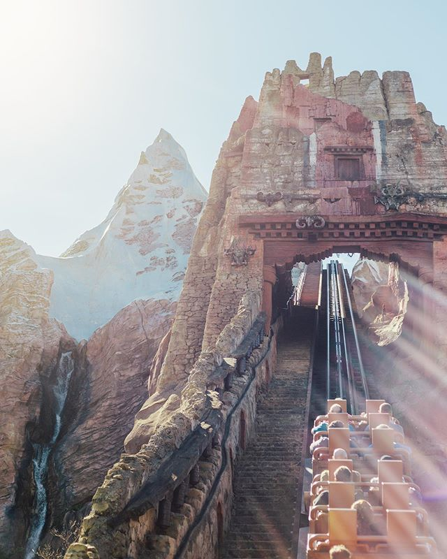 Sometimes Mondays are like climbing Mount Everest... other times they are just as exciting riding Expedition Everest! What kind of Monday are you having?