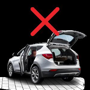 We don't bulk load SUVs, vans, or sedans.