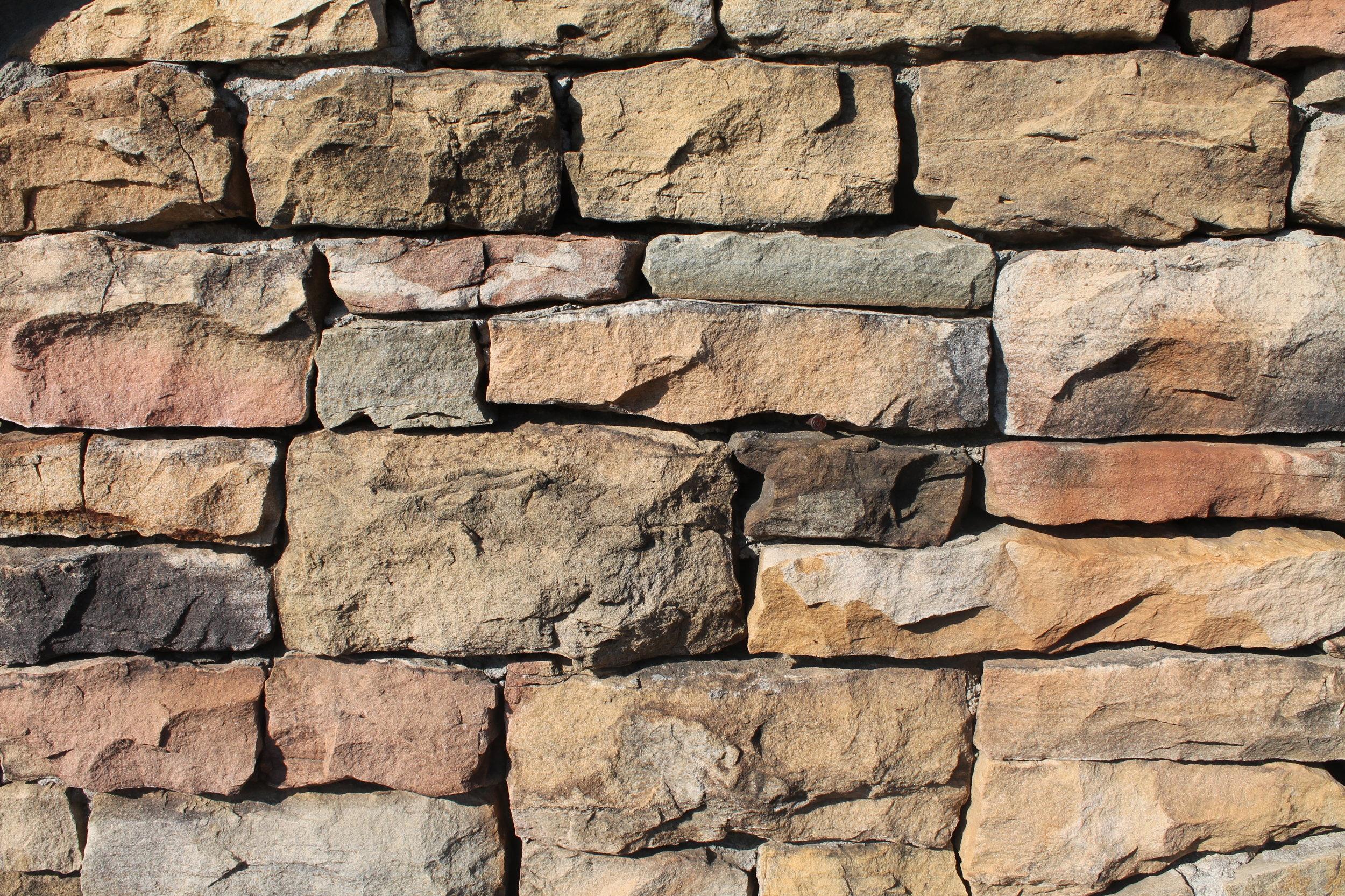 Thin Drystack Wall Installation