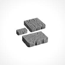 3-Piece Modular  7 ⅞ x 3-15/16 x 3 ⅛ 7 ⅞ x 7 ⅞ x 3 ⅛ 7 ⅞ x 11-13/16 x 3 ⅛