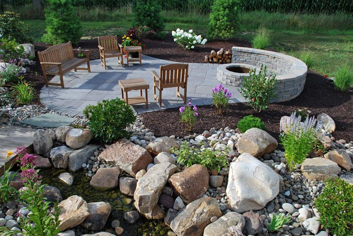 Finish your hardscapes  - Winter time is hardscaping season! Patios, walkways, fire pits, fireplaces! The projects are endless! Do them now and enjoy them later!