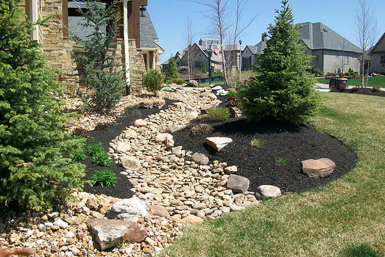 Erosion - Did you notice an erosion issue when it rained? Go ahead and start planning to fix the issue before it gets worse!