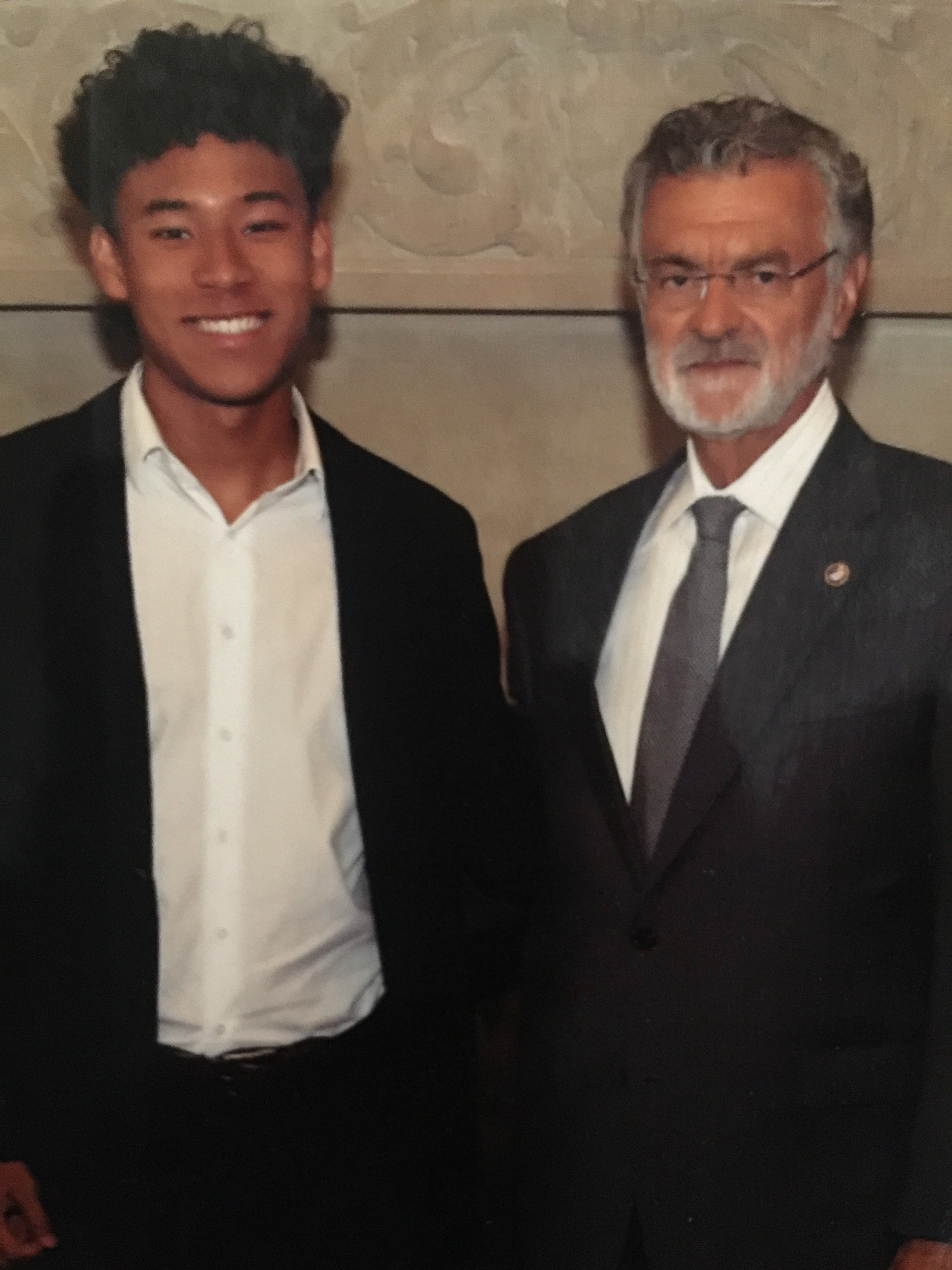 Had the great pleasure of meeting and networking with Mayor Jackson of the City of Cleveland.