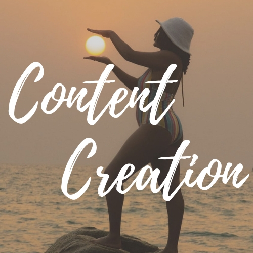 Create powerful visual, written, and video content that your audience will love + share -