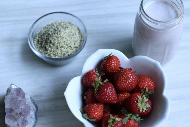 Strawberry ginger hemp milk.jpg