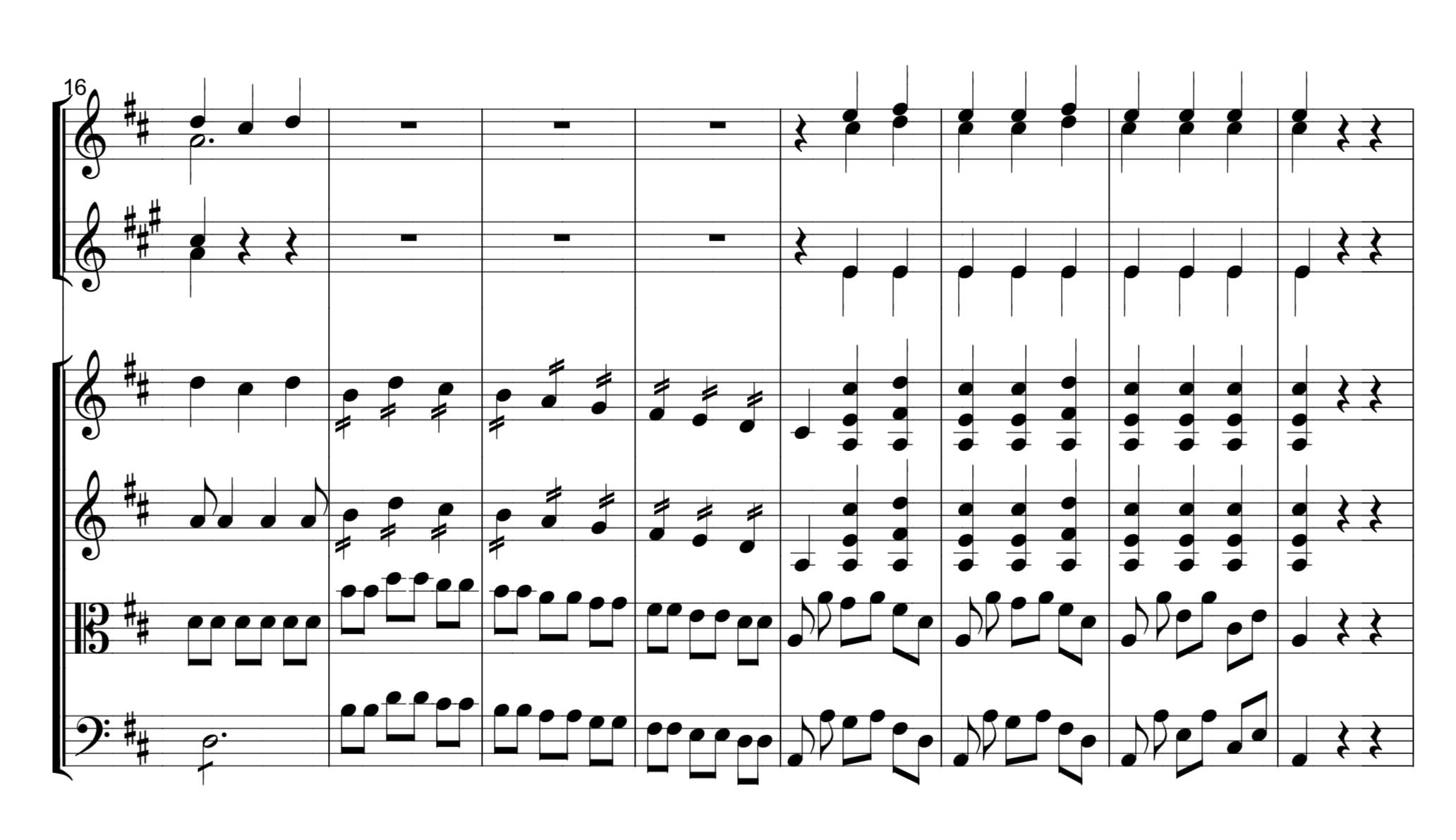 Example 2: MC in measure 23