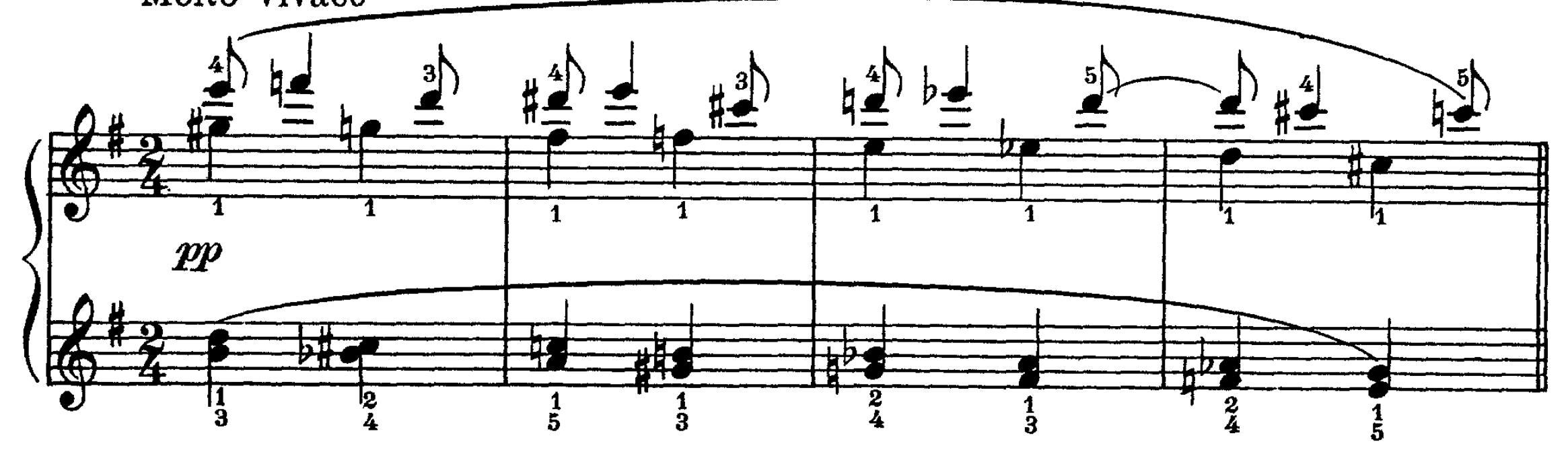 mm. 1 - 4