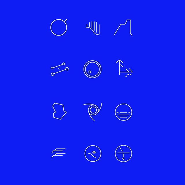 Reposting from @michaeljonesmckean :  been developing a set of glyphs for Twelve Earths and each of its 12 sites... first draft completed, excited to workshop next-level refinements with @some_all_none and @fathomers in LA this coming week... . . . . . #twelveearths 🌍🌑