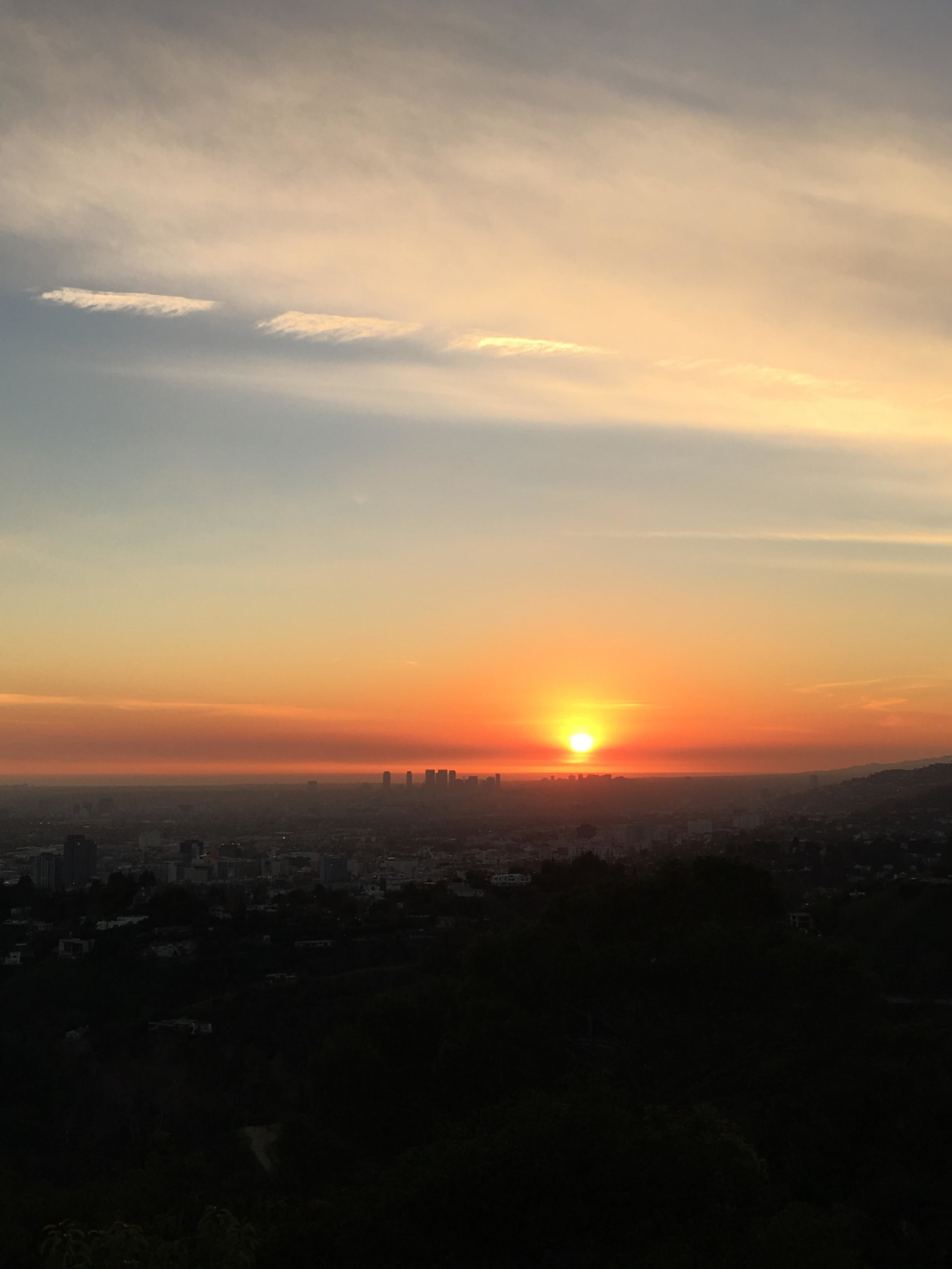 Don't miss sunset at Griffith Park Observatory