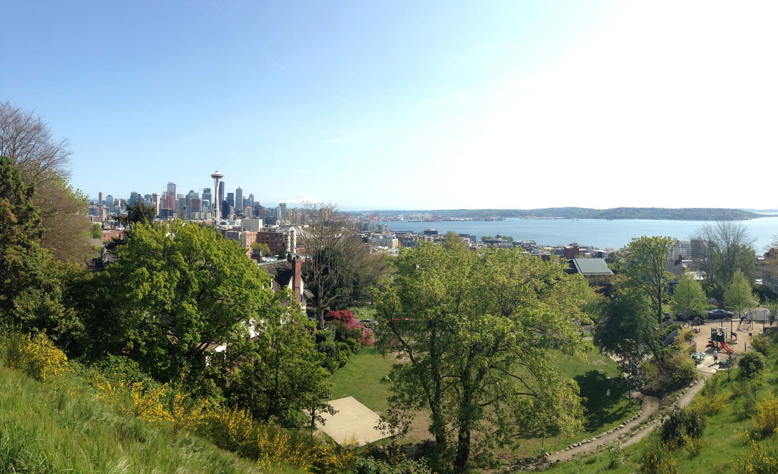 The best view in Seattle: Kerry Park