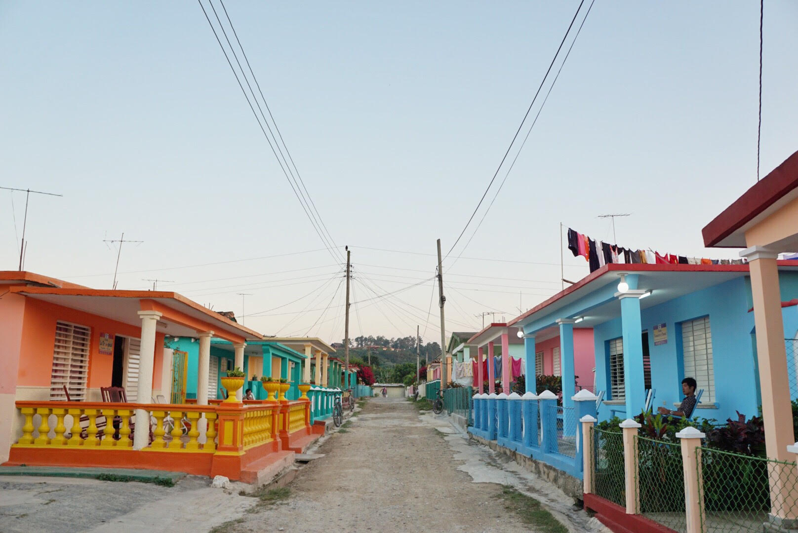 The colourful streets of Viñales