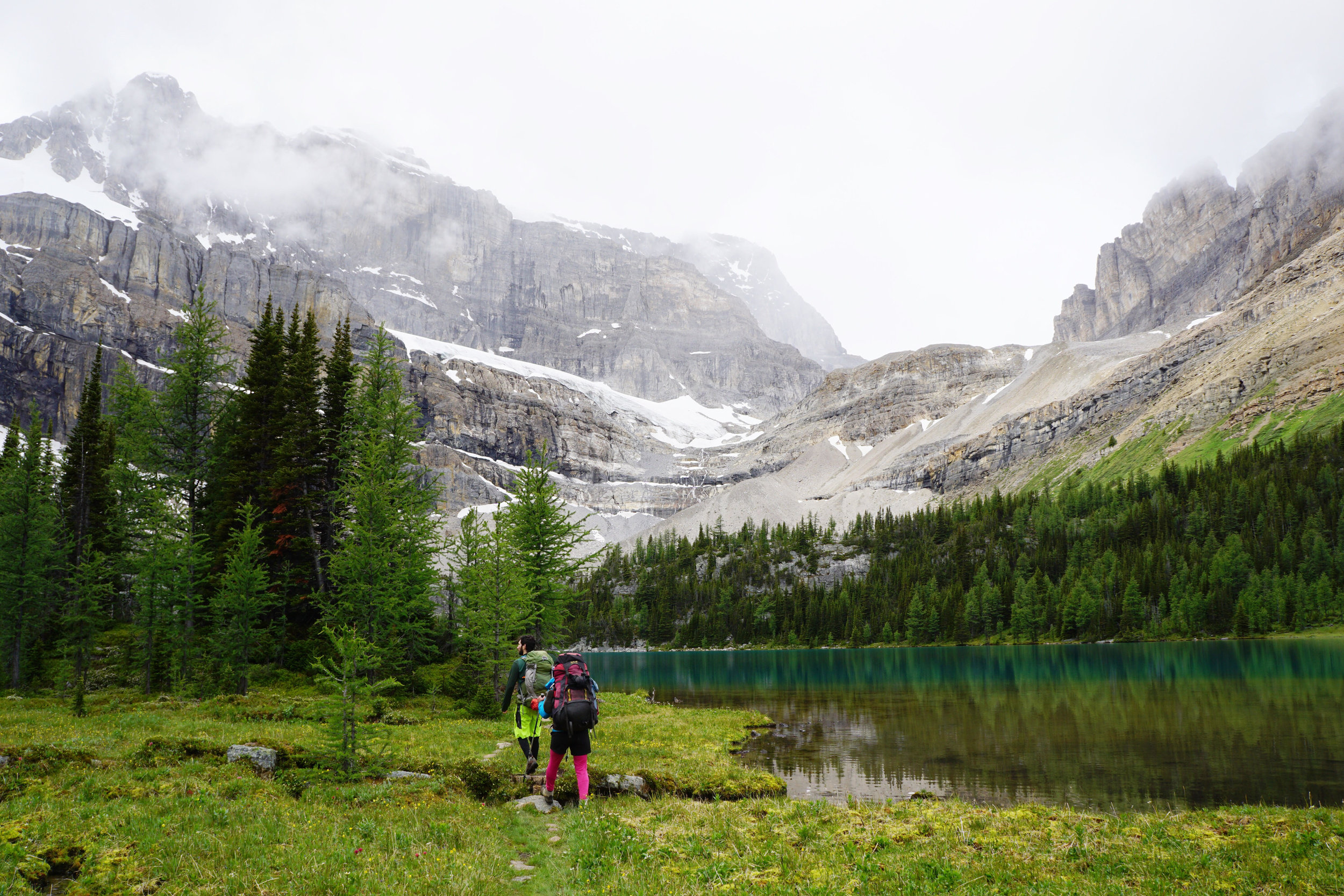The hike through Deception Pass.