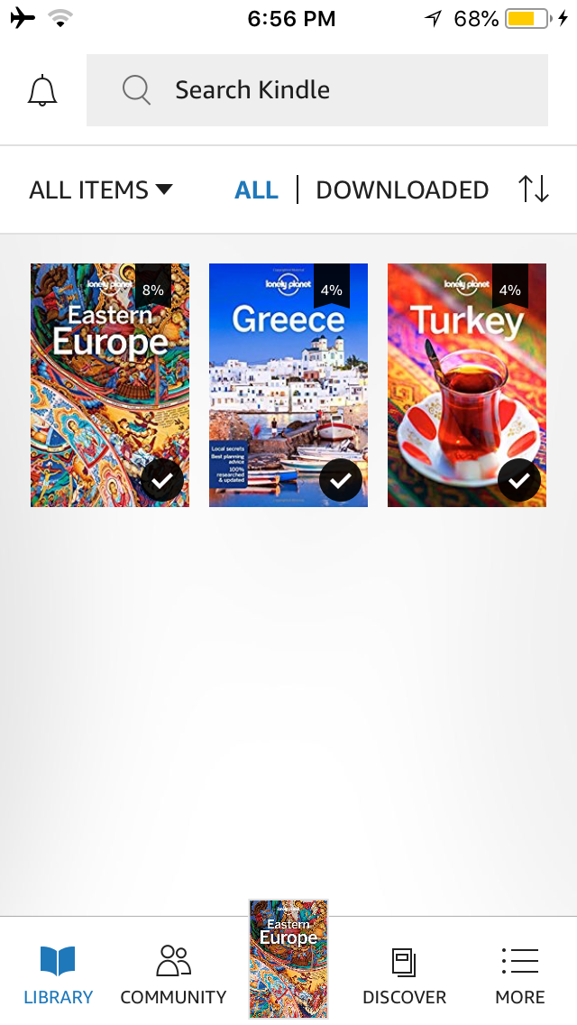 Kindle Reader App Screenshot