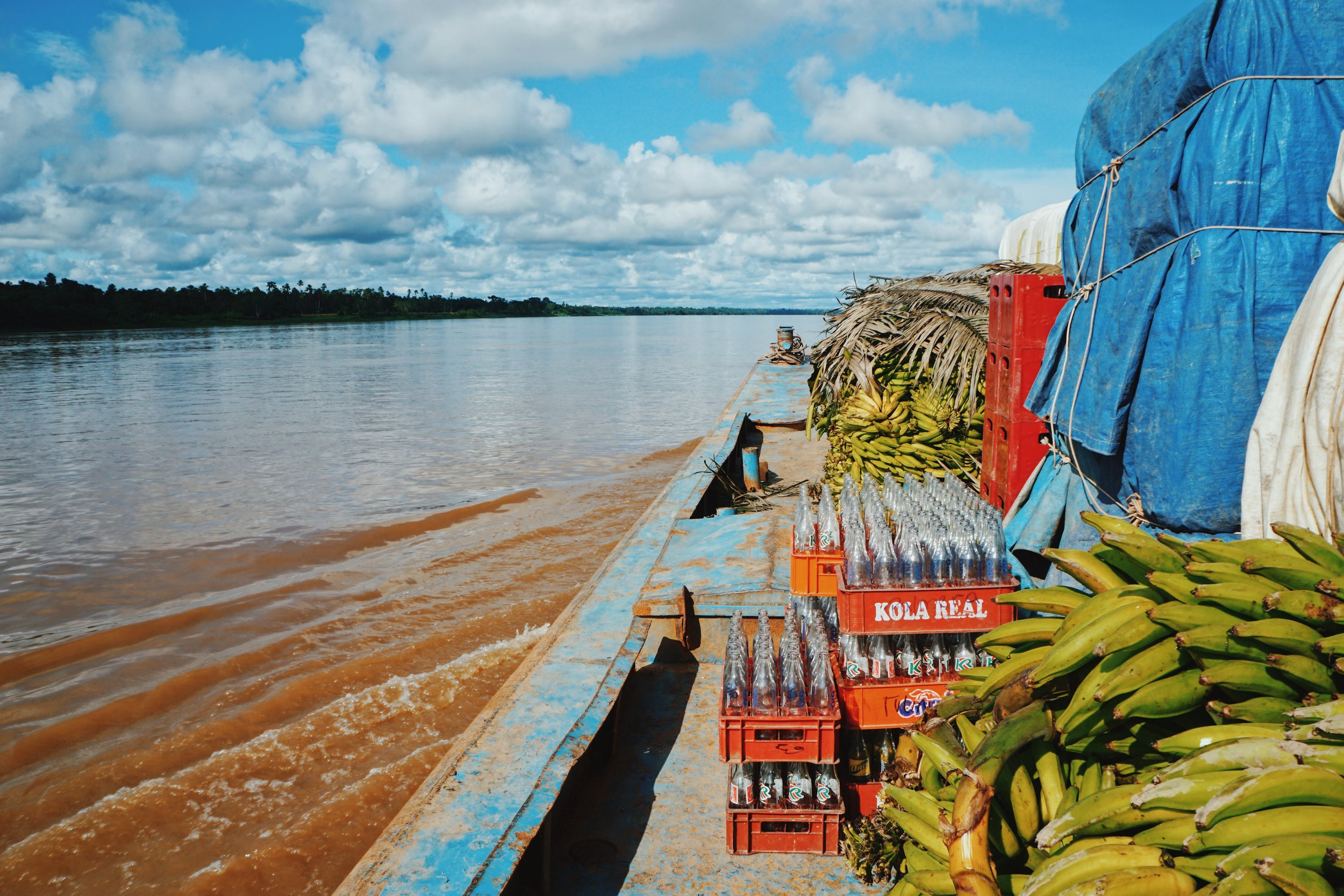 Cargo: plantains.