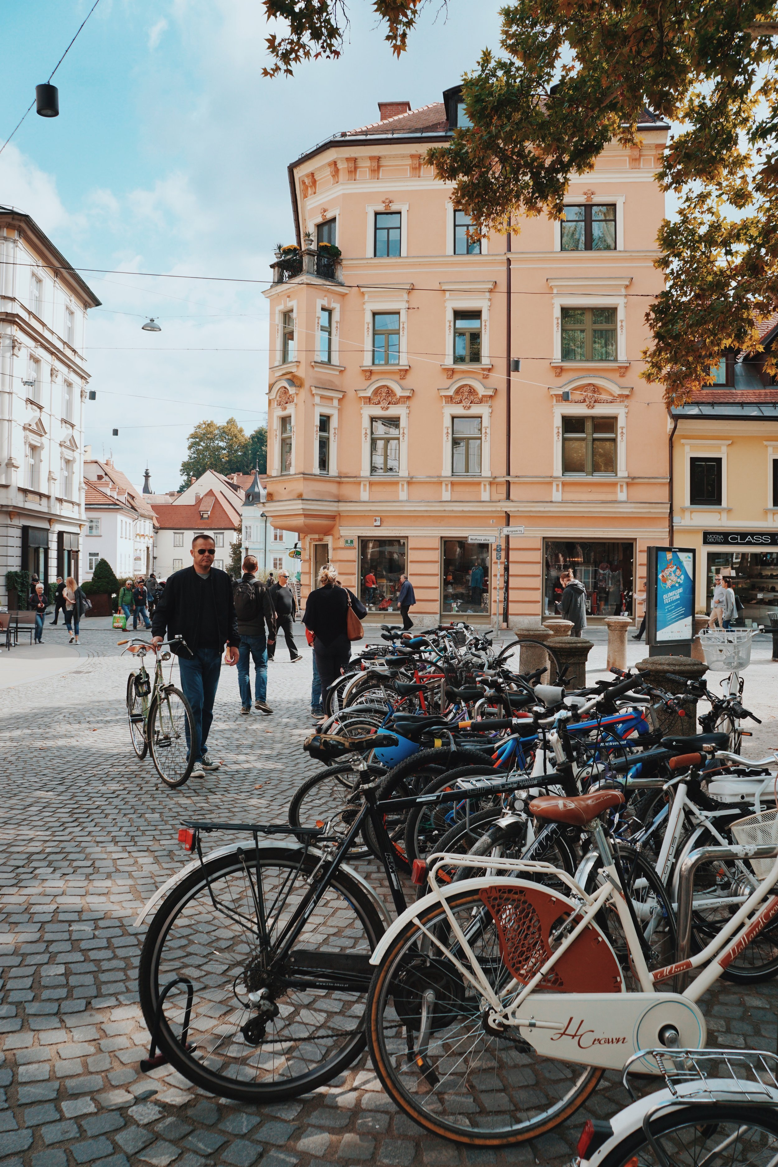 3. Explore the city on two wheels -