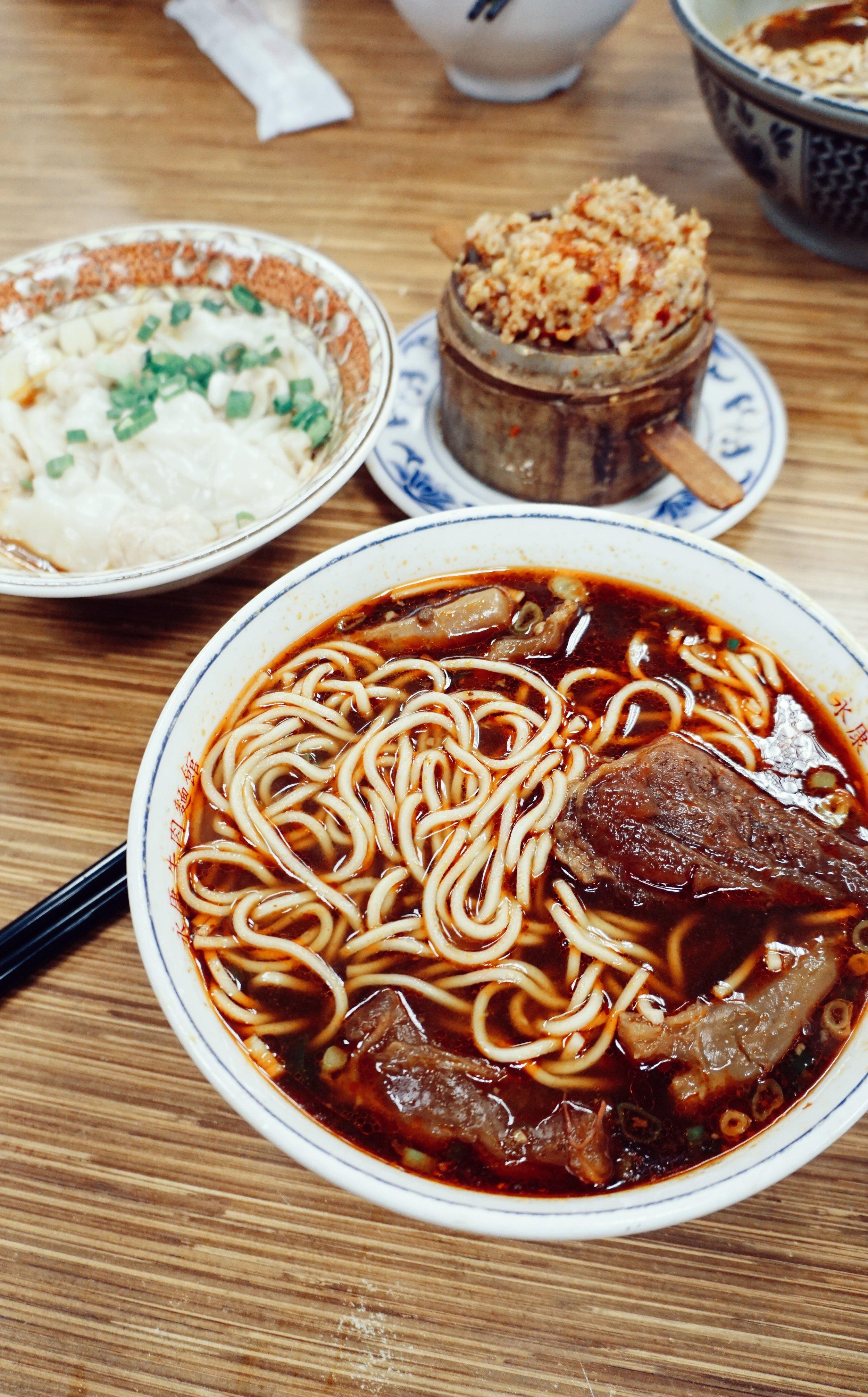 Yongkang Beef Noodles, Taipei.