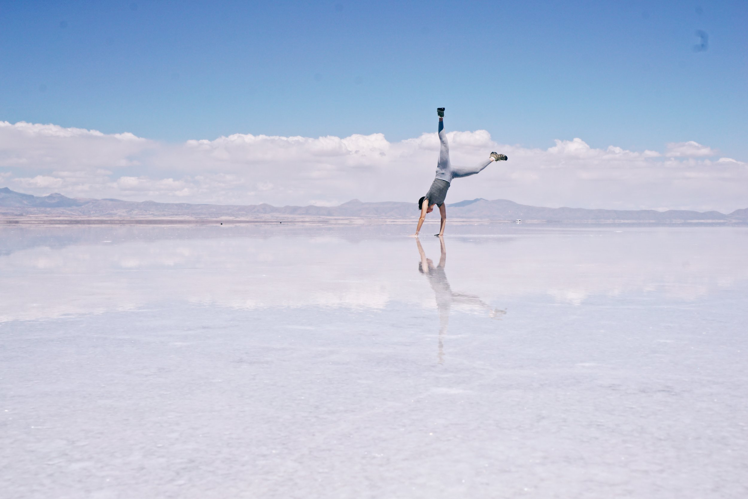 Day 1 of a three-day Salar de Uyuni Salt Flats tour.