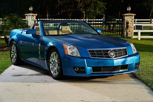 Need a new ride? This ones for sale! #cadillacxlr #cadillacxlrconvertible