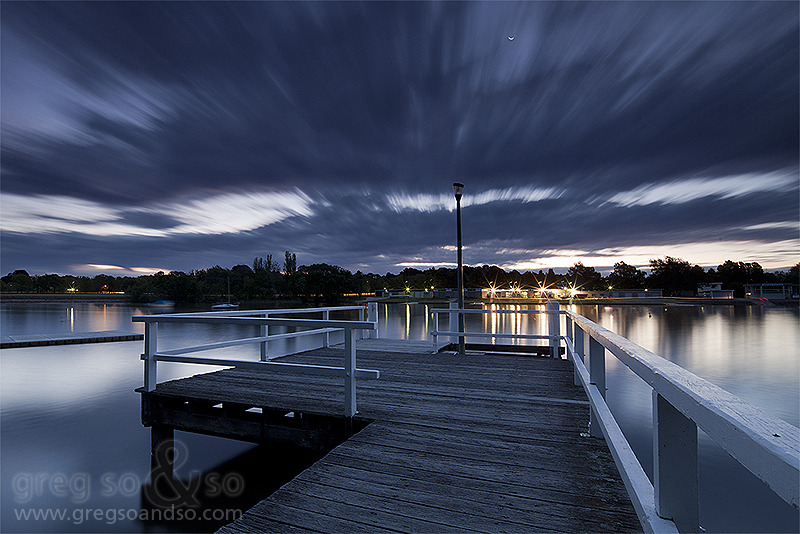 Canberra Rowing Club Jetty