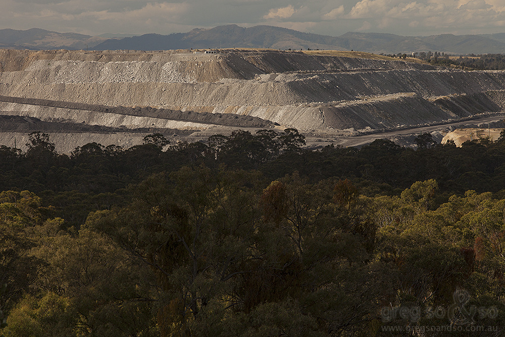 Warkworth Mine Over Burden, Warkworth NSW