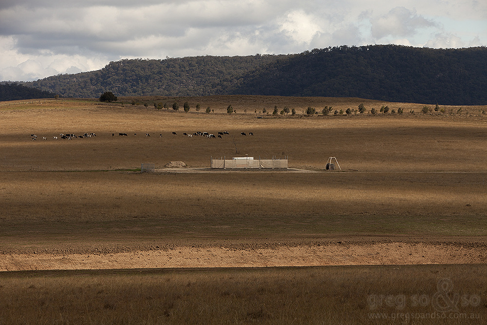Coal Seam Gas in field, Fordwich, NSW