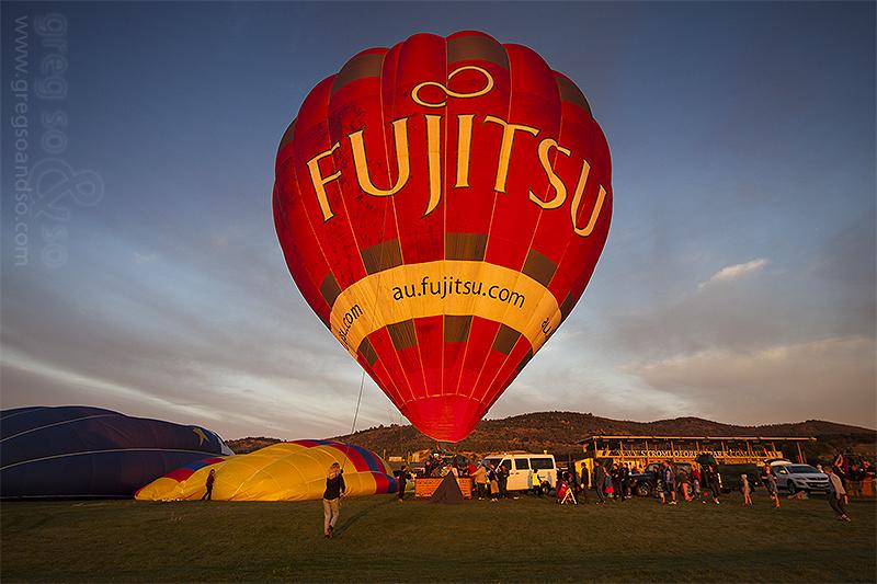 Balloon Festival, Canberra 100yr  celebrations 2