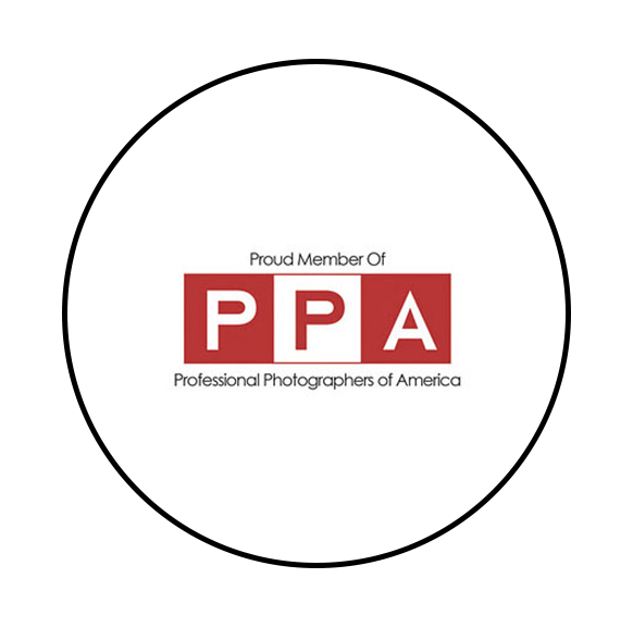 Proud members of Professional Photographers of America.