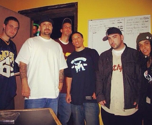 Recording with B-Real of Cypress Hill. Los Angeles Nov 2007