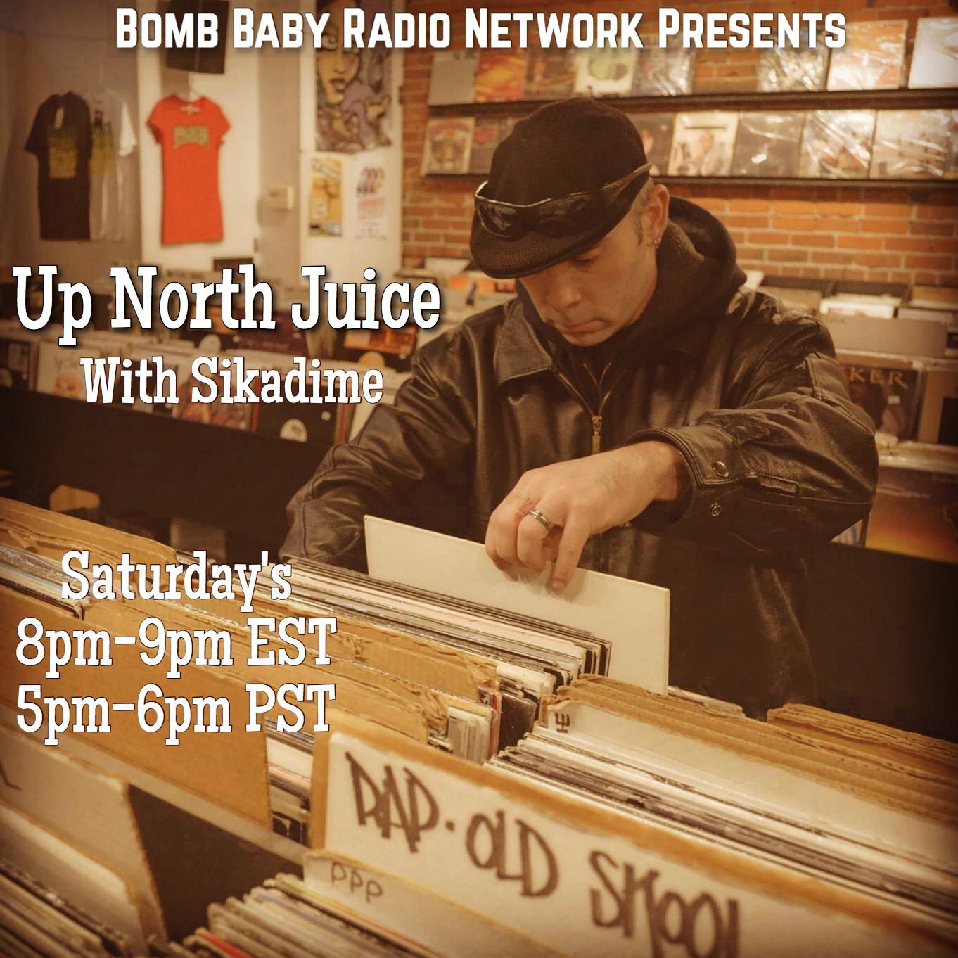 Up North Juice flyer