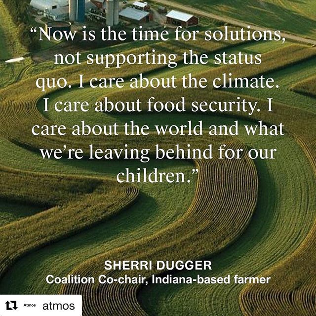 #Repost @atmos with @get_repost ・・・ A national coalition of some 10,000 #farmers and #ranchers have come together to support a #greennewdeal.  Farmers & Ranchers for a Green New Deal coalition will lobby Congress, educate consumers and work with communities to ensure that the transition away from #fossilfuels and toward a #greeneconomy covers their food and nutritional needs.  Coalition co-chair, @sherrilynndugger of @duggerfamilyfarm is an advocate for #regenerativeagriculture, equitable #localfood systems, independent #familyfarms and humane animal #agriculture.  Dugger's own farm in Morristown, Indiana is home to goats, chickens, honeybee hives, and alpacas.  #climatecoverage #atmosmagazine