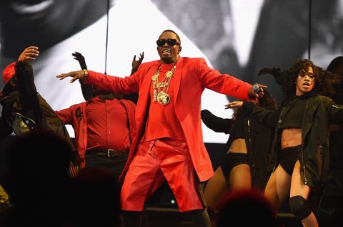 Image Source:  Getty / Kevin Mazur/Images For Live Nation   Diddy performing during The Bad Boy Family Reunion Tour at the Barclays Center in Brooklyn, New York City.