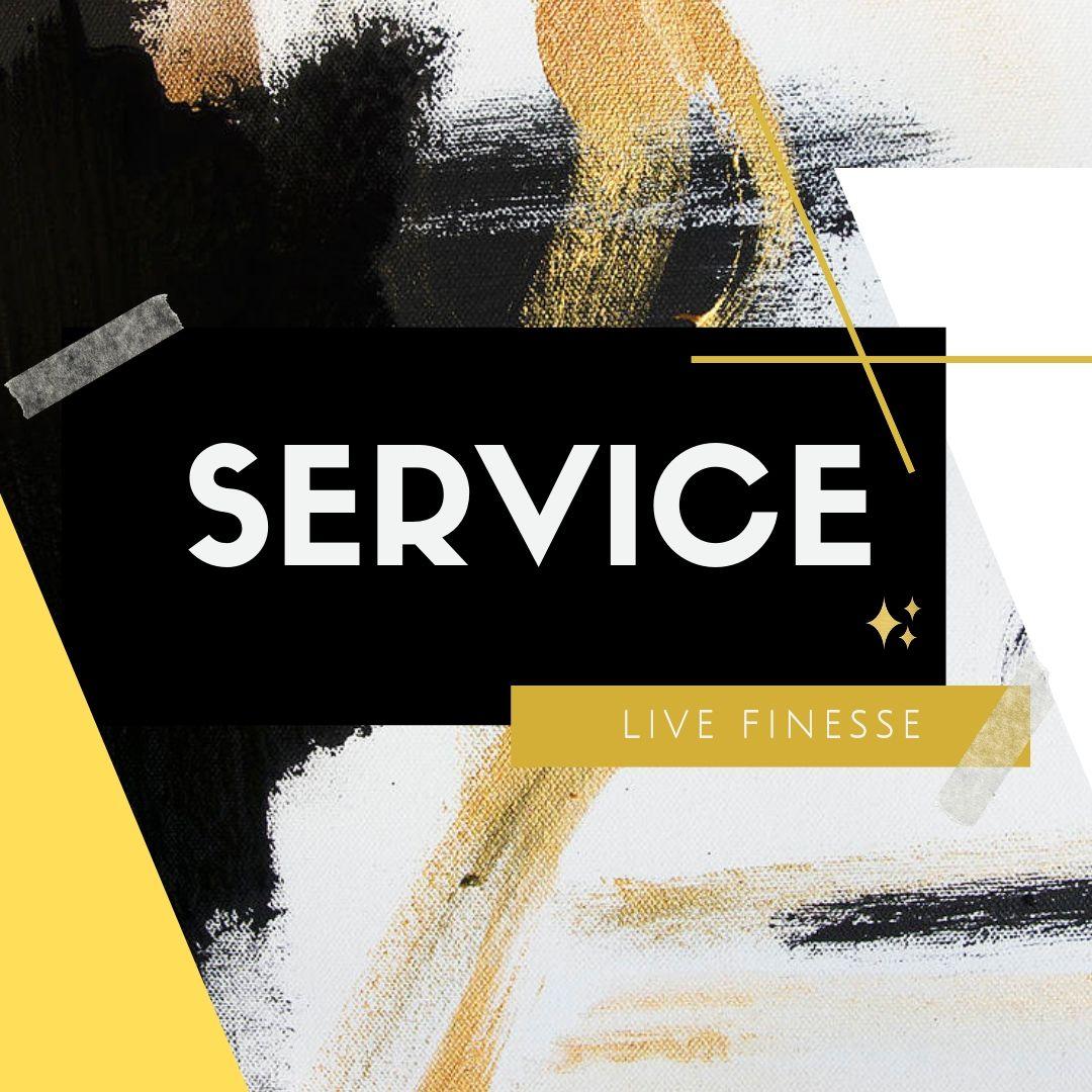 LIVE FINESSE- THE ANNIVERSARY-SERVICE