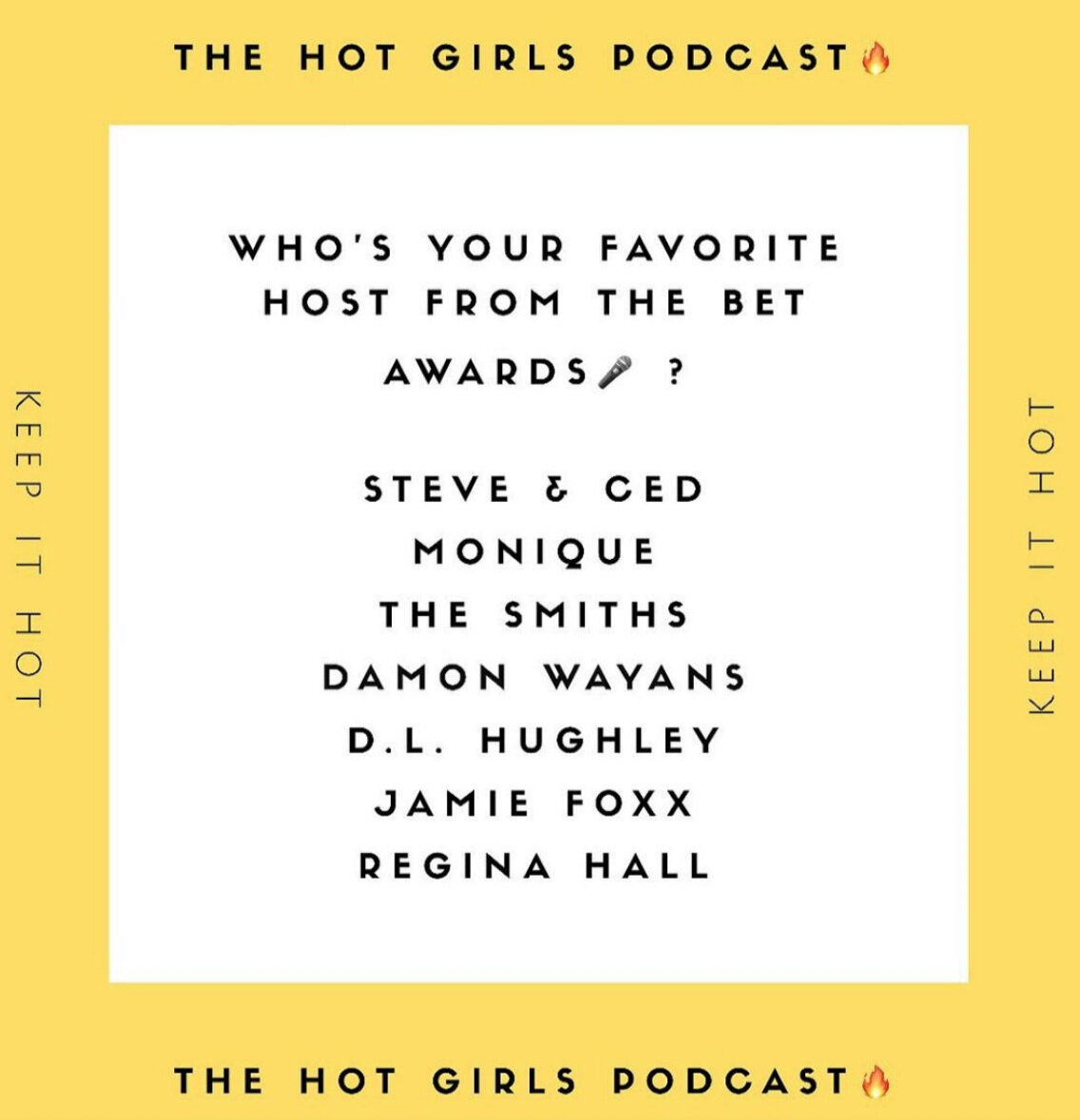 BET Awards Host- The Hot Girls Podcast- Live Finesse